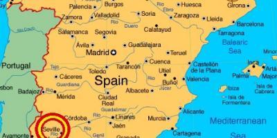 Sevilla Kart Kart Sevilla Andalusia Spania